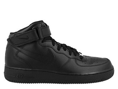 """Buty Nike Air Force 1 Mid 07 """"All Black"""" (315123-001)"""