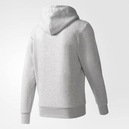 adidas Essentials Logo Hoodie Grey B45729